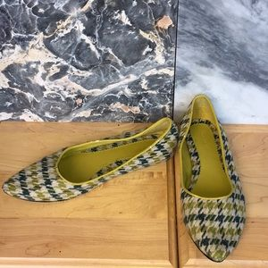 Fabric, Houndstooth Print Flats